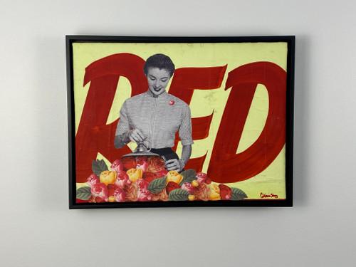 Red Framed Collage