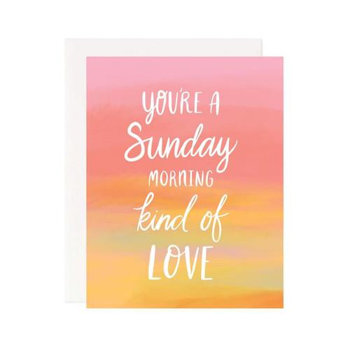 Sunday Morning Love Card