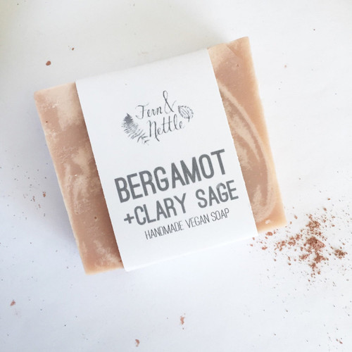 Bergamot + Clary Sage Soap
