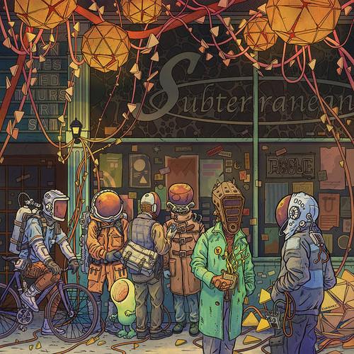 Subterranean 8x8 Fine Art Print