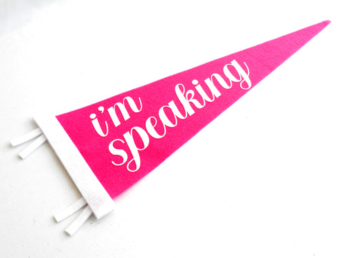 I'm Speaking Pennant