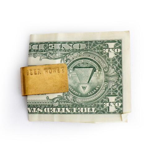 Beer Money Clip