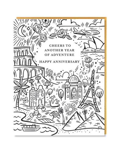 Anniversary Adventure Card