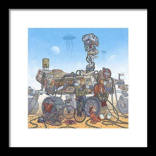 Rover Ruin's Ride Framed 10x10 Art Print