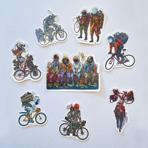 EvanArt Stickers