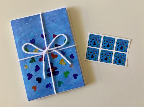 Meditative Hearts Card Pack
