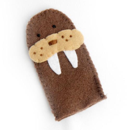 Walrus Finger Puppet