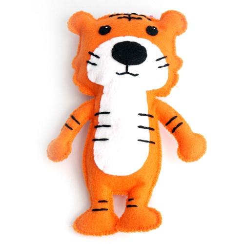Felt Tiger Stuffed Toy