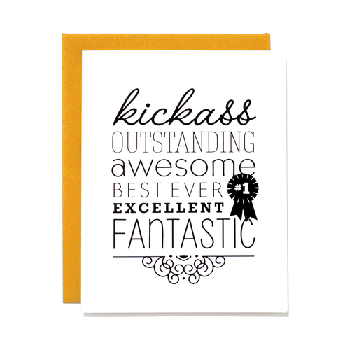 Kickass Card
