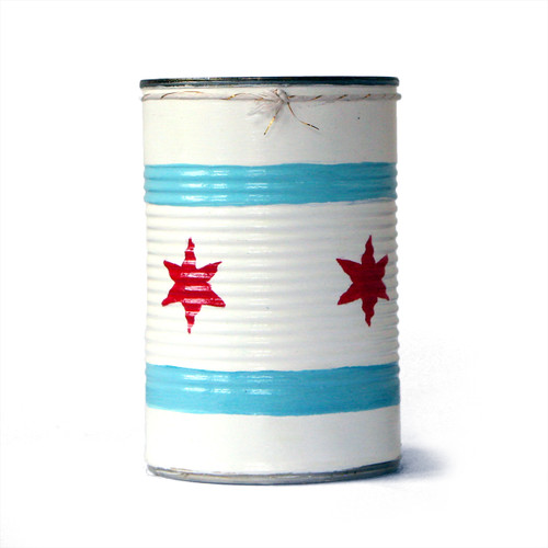 Chicago Flag Great Lakes Soy Candle