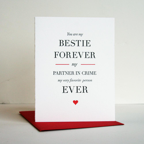 Besties Forever Card