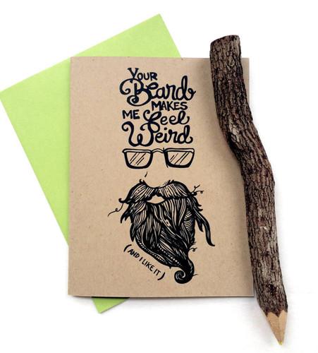 Beard Weird Card
