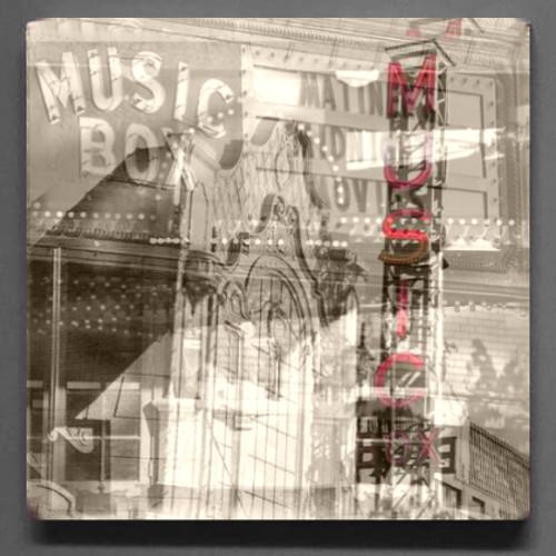 Music Box Theater Coaster