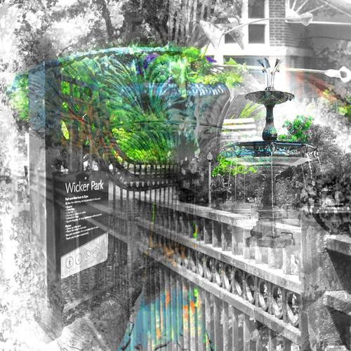 Wicker Park Wood Panel Print