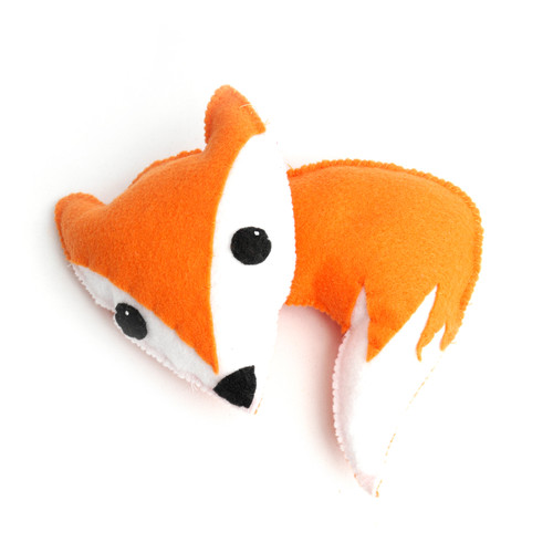 Felt Fox Stuffed Animal