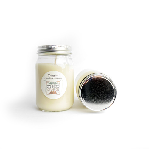 Ground yourself in a dewy, welcoming, fresh forest of rich oakmoss. Then add the warmth of amber tree resin for a complexly smooth, earthy fragrance that lingers in the air in the best way possible.