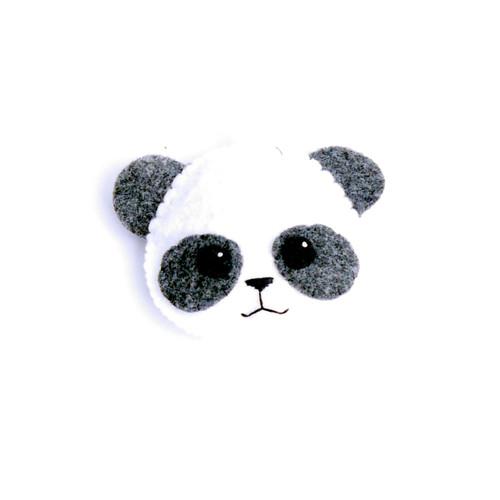 Panda Face Ornament