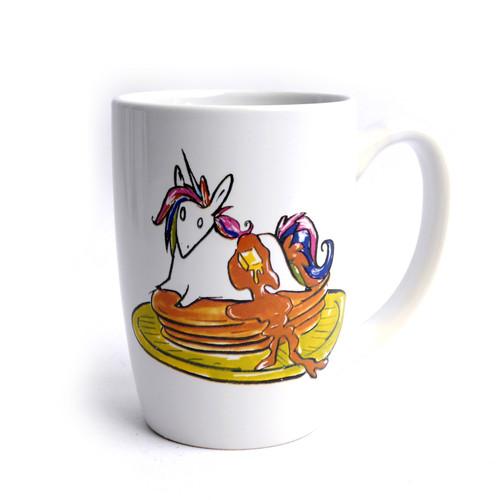 Unicorn Pancake Mug