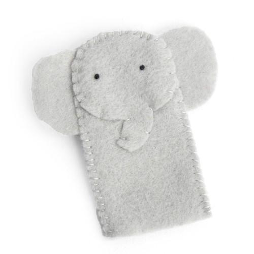 Felt Elephant Finger Puppet