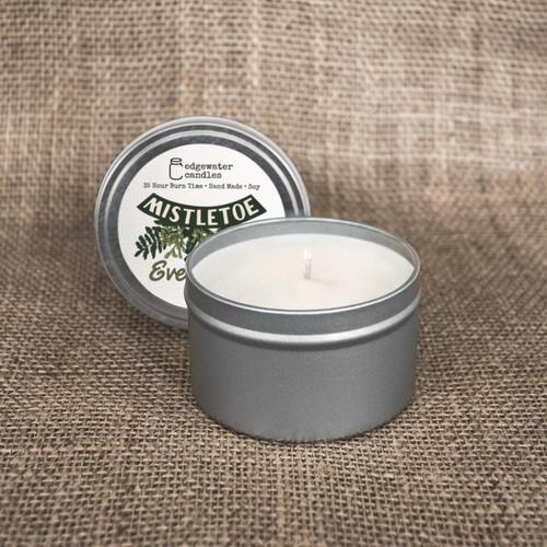Tin - Mistletoe Evergreen