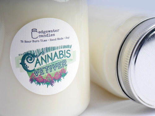 Cannabis Vetiver Candle