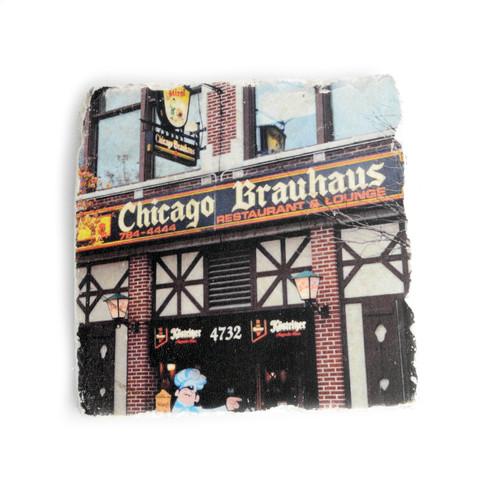 Chicago Brauhaus Tile Coaster
