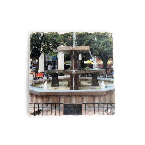 Giddings Plaza Tile Coaster