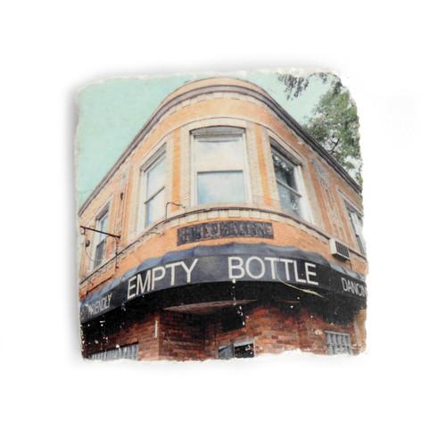Empty Bottle Tile Coaster