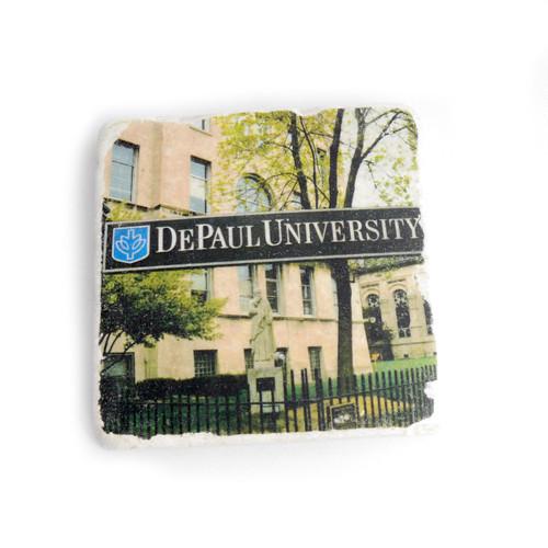 Depaul University Tile Coaster
