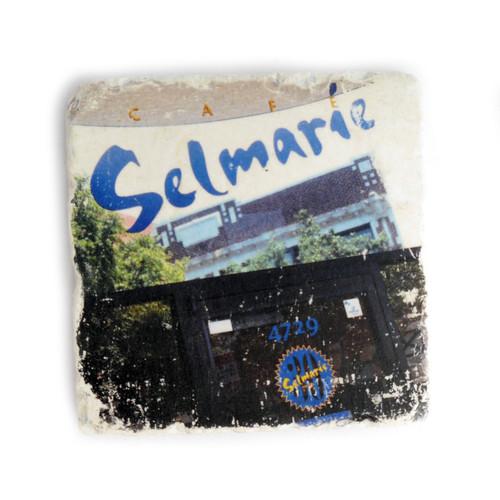 Cafe Selmarie Tile Coaster