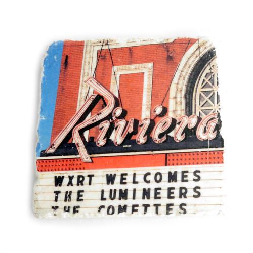 Riviera Theater Tile Coaster