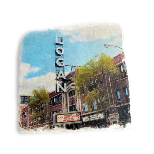 Logan Theater Tile Coaster