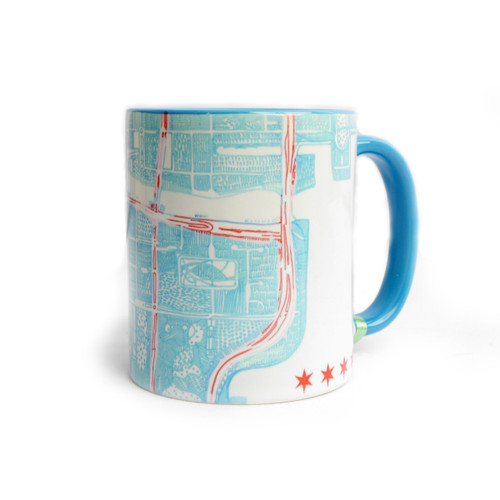Chicago Map Mug