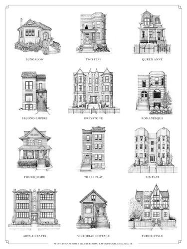 A Guide to Chicago Home Styles Print