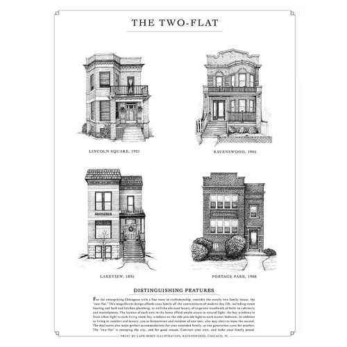 The Two-Flat Print