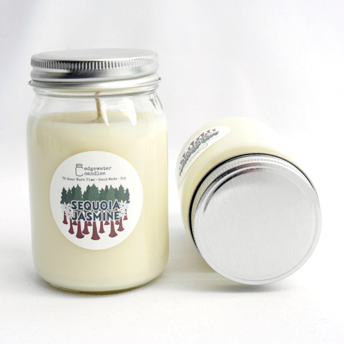 Sequoia Jasmine Candle