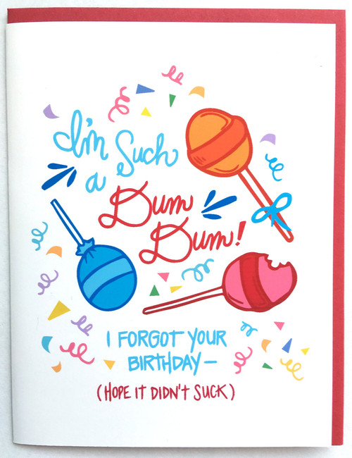 DumDum Birthday Card