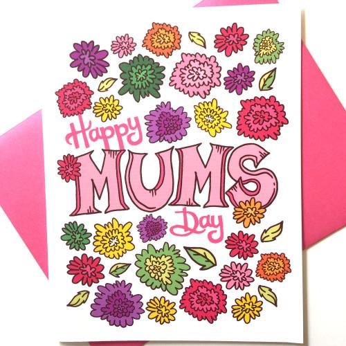 Mum's Day Greeting Card