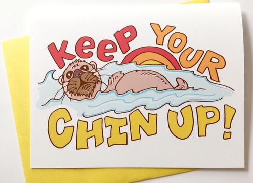 Chin Up Card