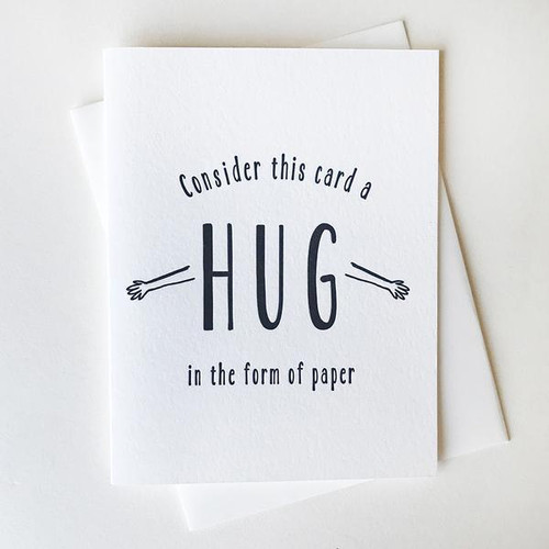 Paper Hug Card