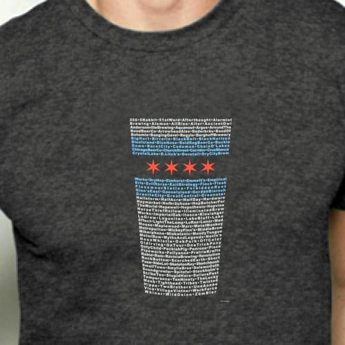Chicagoland Brews Pint Glass Shirt