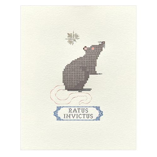 Ratus Invictus 8x10 Original Print