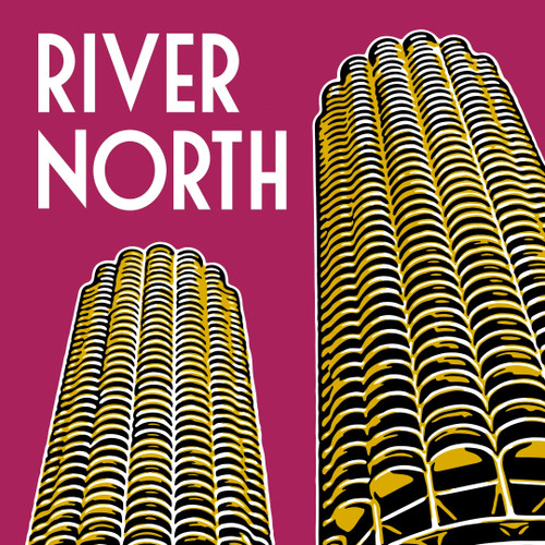 River North Poster