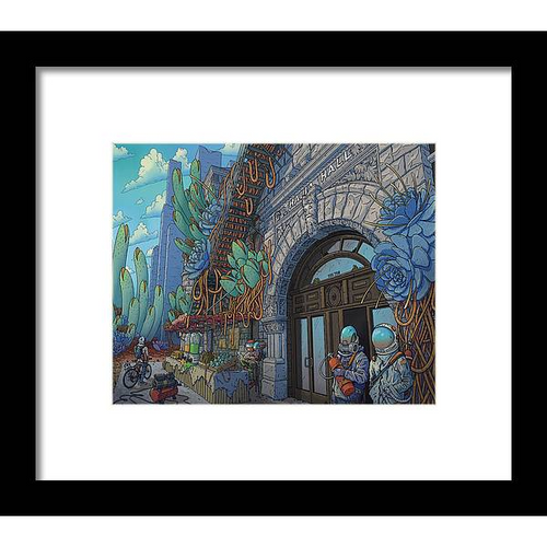 Thalia Hall Framed Fine Art Print