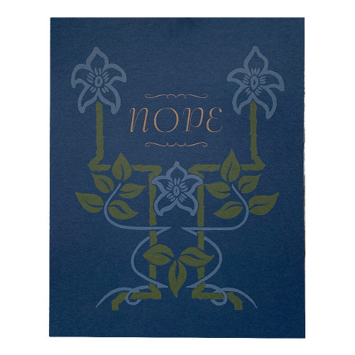 Nope Biblio 8x10 Print
