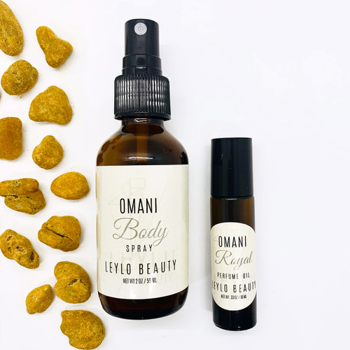 Omani Body Spray And Rollerball Duo