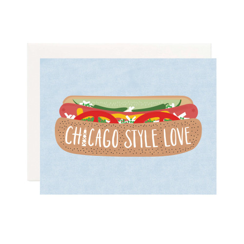 Chicago Style Love Card