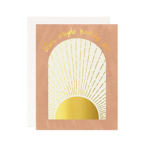 Shine Bright Birthday Card
