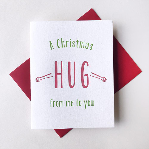 Christmas Hug Card