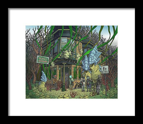 Beat Kitchen Framed Art Print